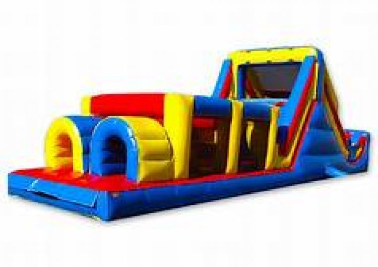 4020obs 303758494 big 40' Extreme Rush Obstacle course